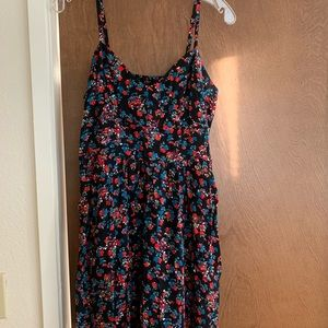 Express dress with pockets